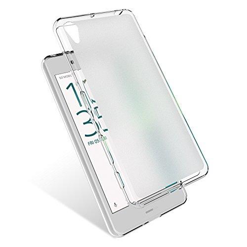 Hülle für Sony Xperia X Performance Dünn Schutzhülle Federleicht Matte Lichtdurchlässig Handyhülle Weiß