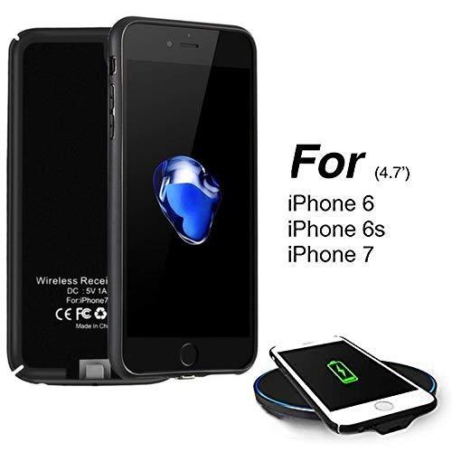 Hoidokly Receptor iPhone 7/6 /6s Funda Receptor Cargador