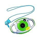 Tyhbelle Digital Kamera für Kinder Kinderkamera 500 Millionen Pixel 1,45-Zoll-Farbbildschirm mit Akku (Grün)