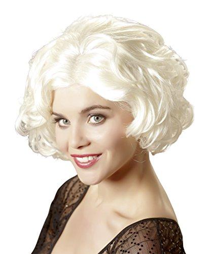 Wigged Love Perücke Mary-Lynn blonde (Rollentausch Kostüme)