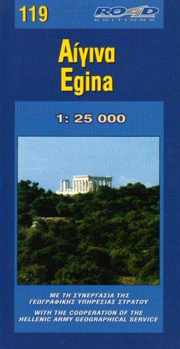 Aegina Island 2005 (Maps of Greek islands)