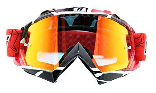 Maschera da sci, visiera da motocross, NENKI MX NK-1019