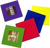 Polaroid Schaumstoff Fun Rahmen - 10er - Pack (je 2 x blau, rot, gelb, grün, lila) für 600er Format -