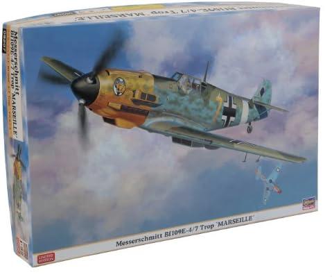 Hasegawa 08207 – Me Bf109 E4/7 trop | à Bas Prix