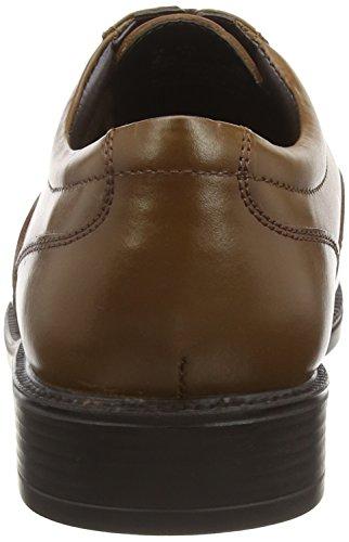 Hush Puppies Rockford_ct, Herren Oxford Schnürhalbschuhe Braun (Tan Leather)