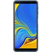 """Samsung Galaxy A7 (2018) Smartphone, Blu (Blue), Display 6.0"""", 64 GB Espandibili, Dual Sim [Versione Italiana]"""