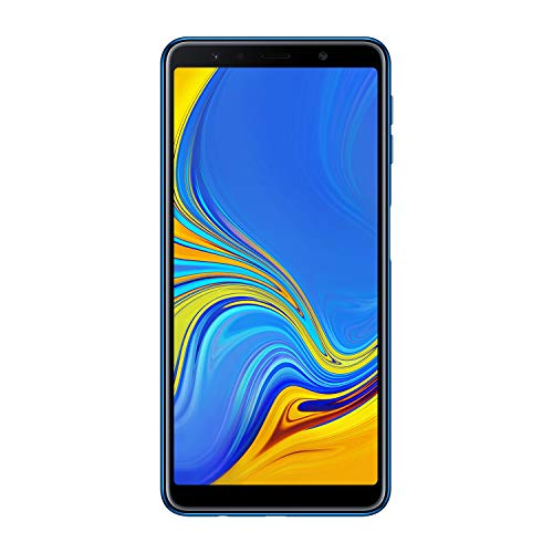 Samsung Galaxy A7 (2018) Smartphone, Blu (Blue), Display 6.0
