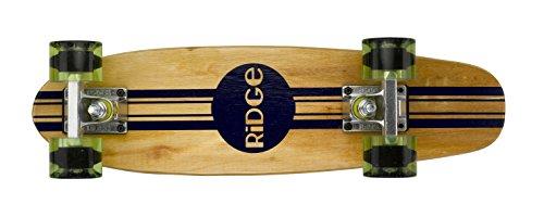"""Ridge 22\"""" Original Maple Holz Mini Cruiser Board mit 12 Rollenvarianten, Retro Skateboard, komplett, völlig in der EU entworfen und hergestellt"""