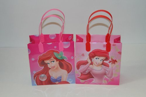 24PC DISNEY ARIEL LITTLE MERMAID GOODIE BAGS PARTY FAVOR BAGS GIFT BAGS by UPD