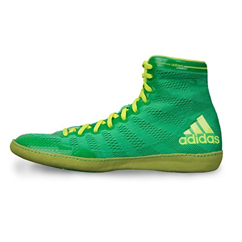 Adidas Adizero Varner Wrestling scarpe, reale / bianco / nero, 4 M Us Flash Lime,Yellow