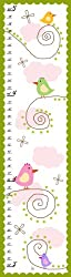 Green Leaf Art Little Chickens Growth Chart, 10 by 39-Inch