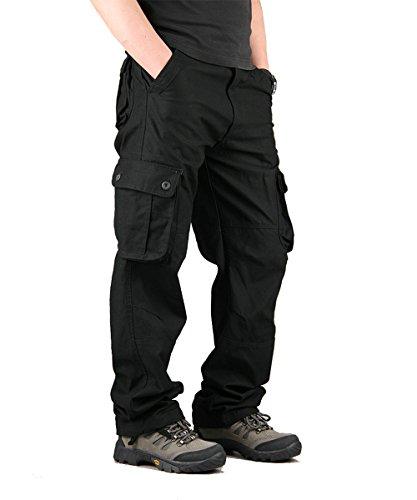 Pantaloni Cargo Uomo Militari Tattici Taipove 0q4nTHx