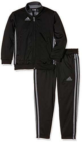adidas Jungen Präsentationsanzug Condivo 16 PES Trainingsanzug Black/Vista Grey 128