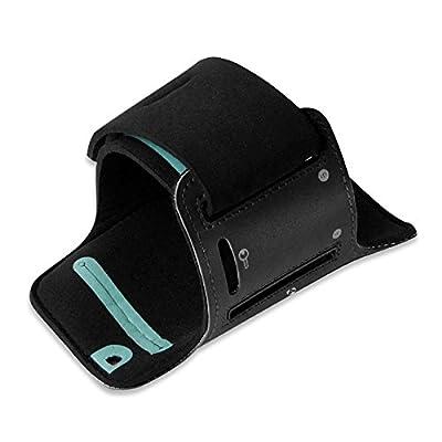 Sportarmband für Handys & Smartphones / Jogging- und Laufarmband für kräftige Arme mit 50cm Armumfang / perfekte Handytasche für diverse Handygrößen ( SMALL 133x63x7mm bis 138x68x9mm / MEDIUM 138x66x7mm bis145x72x10mm / LARGE 146x74x7mm bis 155x8x10mm )