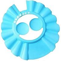 قبعة استحمام للاطفال متعددة الوظائف قابلة للضبط واقية للاذنين للحماية من الشامبو