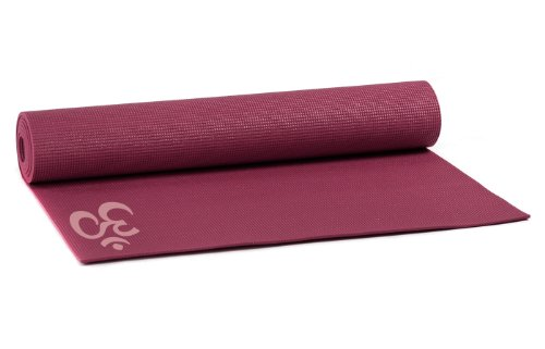 Yogistar OM - Esterilla de yoga, color rojo
