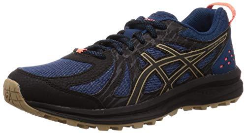 Asics Frequent Trail, Zapatillas de Running para Hombre, Azul (Mako Blue/Black 403), 43.5 EU