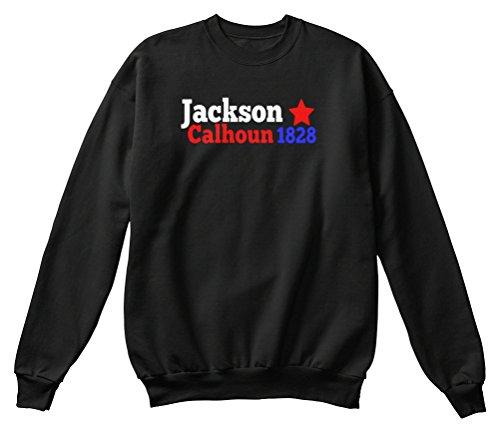 Teespring Men's Novelty Slogan Sweatshirt - Jackson Calhoun 1828