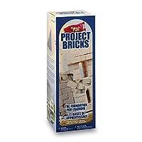 Floracraft Make It Fun: Project Bricks 300 kg, Tan, 5.12 x 5.12 x 14.25