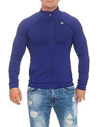 adidas Herren Trainingsjacke Clima 3 ESS TT Climalite Sport Jacke Violett  M65778 25a4ca6d1c