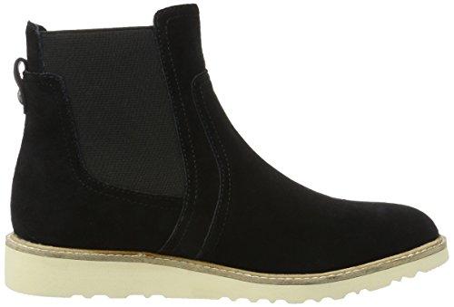 Esprit Damen Kajal Tg Bootie Chelsea Boots Schwarz (001 Nero)