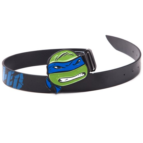 Teenage Mutant Ninja Turtles Gürtel - Ninja Turtles - Leonardo Blauwe Buckle