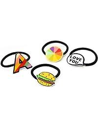 JING Tocado de niños Dibujos Animados Letra Fruta r