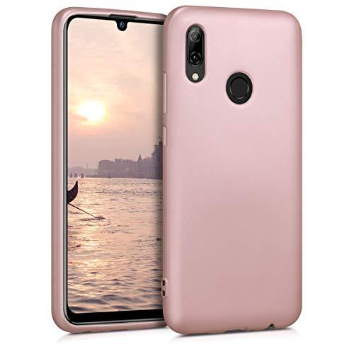 kwmobile Huawei P Smart (2019) Hülle - Handyhülle für Huawei P Smart (2019) - Handy Case in Metallic Rosegold