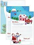 Save The Children Charity-Brief an den Weihnachtsmann mit Danksagung, 16 Stück