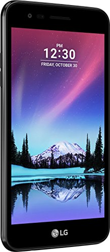 LG Mobile K4 (2017) Dual SIM Smartphone (12,7 cm (5 Zoll) IPS Display, 8GB  Speicher, Android 6.0) schwarz