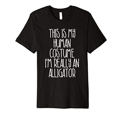 (Cute einfach Alligator Halloween-Kostüm Shirt für Mädchen Jungen)