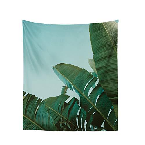 Wald Mandala Tapisserie wandteppiche, Hippie Mehrzweck Picknickdecke Wandbehang, Tischdecke Yogamatte Wandtuch, Ohne zu verblassen-B 130x150cm(51x59inch) ()
