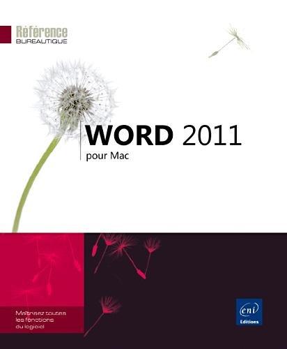 Word 2011 pour Mac