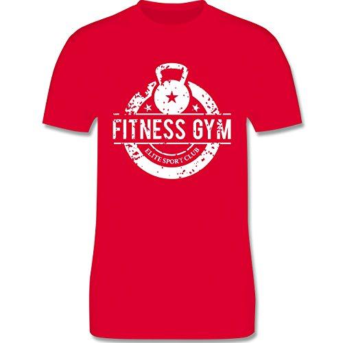 CrossFit & Workout - Fitness Gym Elite Sport Club - Herren Premium T-Shirt Rot