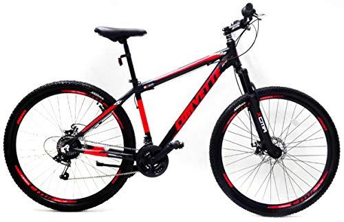 Reset Bicicletta Mountain Bike MTB Ragazzo 29' 21V MTB Nomand Nero e Rosso