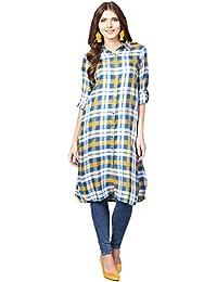 5e3ddeae6a Long Sleeve Women's Kurtas & Kurtis: Buy Long Sleeve Women's Kurtas ...