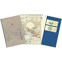 Moses Verlag 81712 Fernweh - Cuaderno diseño viajes, 3 unidades