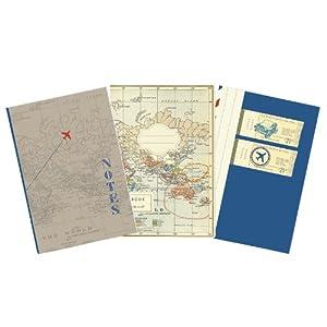 Moses Verlag 81712 Fernweh – Cuaderno diseño viajes, 3 unidades