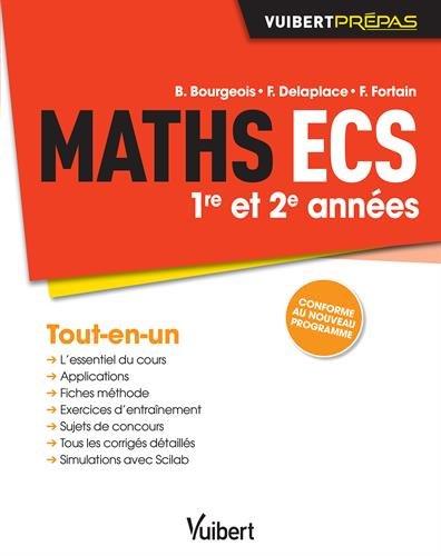 Maths ECS - 1re et 2e années - Conforme au nouveau programme