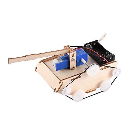 Goolsky- Crab Kingdom DIY Niños Ciencia Experimentos tecnológicos Aula Pequeños inventos Ensamblados Modelos Juguetes Herramienta educativa de Aprendizaje Kit-Tanques Coche