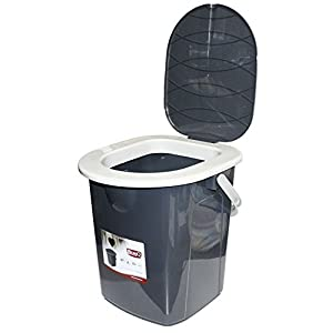 419w72ueq6L. SS300  - BranQ 1306 Camping Toilet Grey Medium