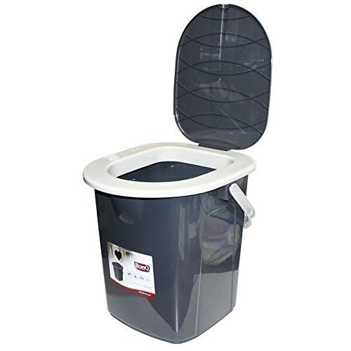 BranQ 1306 Camping Toilet Grey Medium