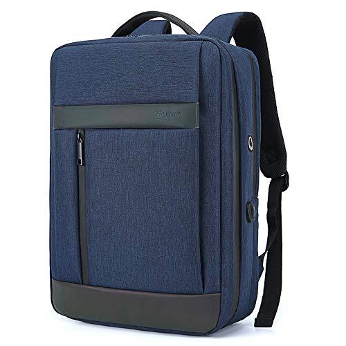 Rucksack Computertasche Tasche mit USB-Ladeanschluss, Diebstahlsicherung für Geschäftsreisen und strapazierfähiger Notebooktasche 44 * 30 * 13 cm