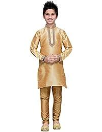 659e62aca0 Cellora Dupion Silk Kids Kurta Churidar Pajama 1-14 Years Dupion Silk Party  Wear Dress