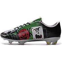 Generic hombre Mercurial Vapor X Batman payaso bajo zapatos de fútbol botas de fútbol, hombre, negro, UK10.5/EUR45