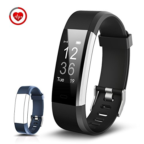 CHEREEKI Fitness Tracker Cardiofrequenzimetro Activity Tracker Bracciale Fitness Braccialetto Sport Fitness Watch Pedometro Smartwatch Sonno Monitoraggio/ Monitoraggio Calorie/ Notifiche Chiamate/ SMS/ WhatsApp/ Facebook per iOS iPhone e Android Smartphone