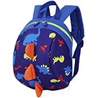 VENMO Cartoon Dinosaur Toddler Kids School Backpack Bags Boys Girls Mini Backpack Rucksack For School, 20*26*12cm