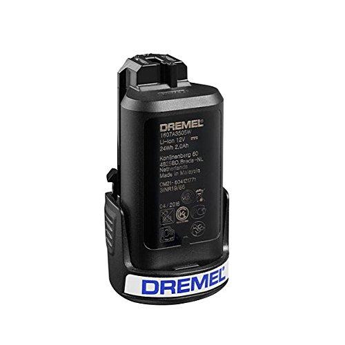 Dremel 26150880ja Lithiumbatterie für Multifunktionswerkzeug Drehschalter 880, 12V, Schwarz