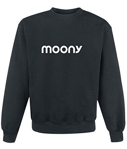 Felpa Moony - Print Your Name Black