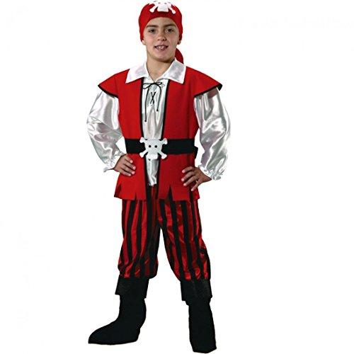 Disfraces Nines - Disfraz pirata infantil niño talla 9-11 años